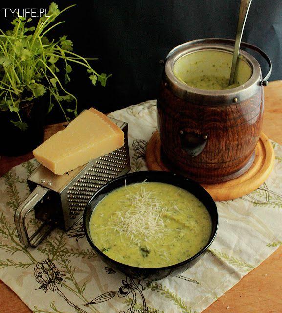 Zucchini and Parmesan soup.