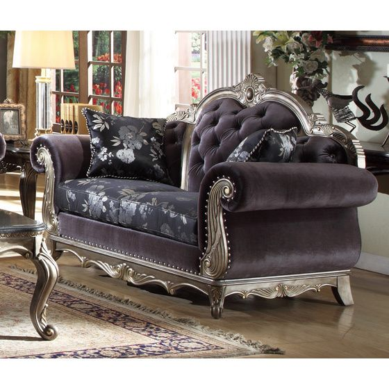 Your Living Room Will Be The Height Of Dignified Fashions With Smooth Top Quality Velvet Upholstery And