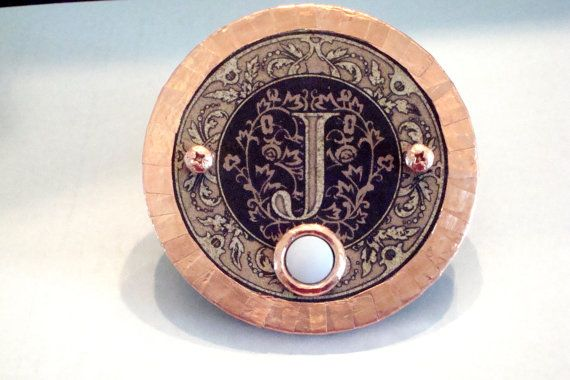Monogram Doorbell Cover Plate by dccreations1 on Etsy
