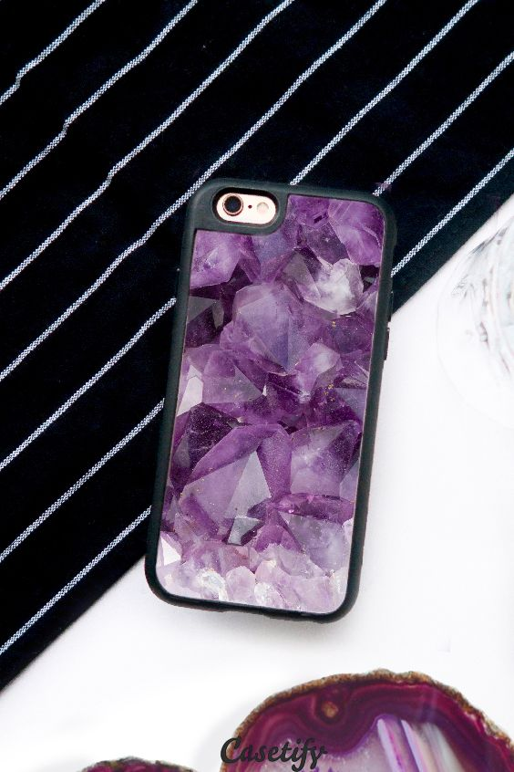 Click through to see more Agate iPhone 6 phone case designs. Case your phone with agate >>> https://www.casetify.com/collections/iphone-6s-agate-cases#/?device=iphone-6s | @casetify