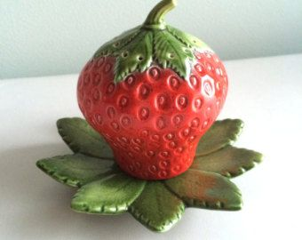 ceramic strawberry - Google zoeken