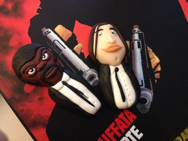 Pulp Fiction fimo handmade!