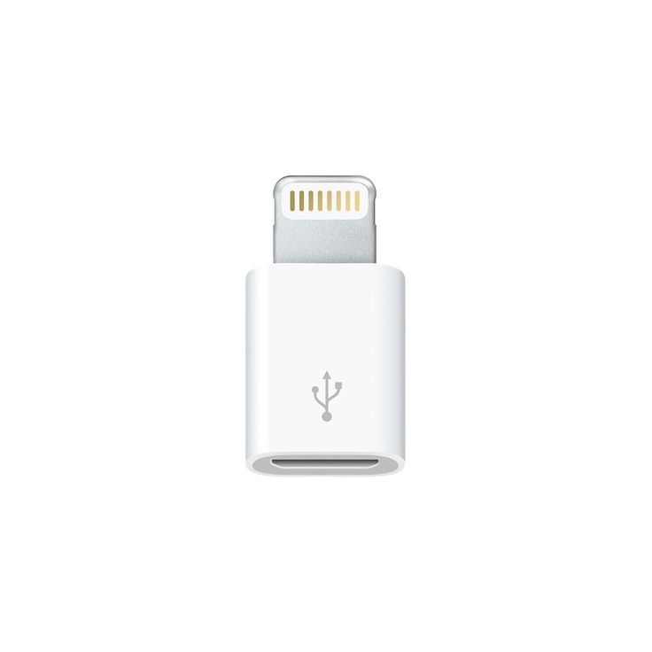 Apple MD820ZM/A Micro-USB To 8-Pin Lightning Adapter