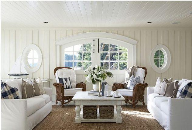 7 Inspirational Ideas For Decorating Beach Themed Living Room | Home Design Ideas