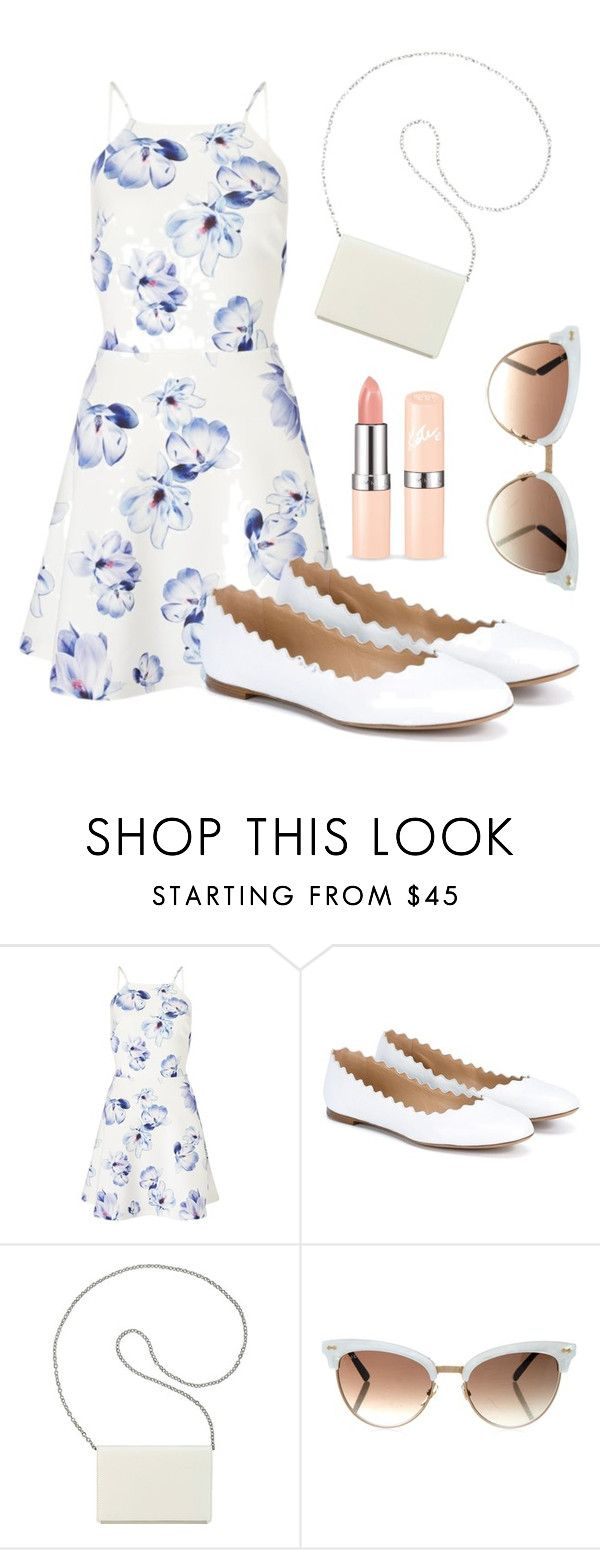 """""""Summer Formal Outfit"""" by klaraelyse ❤ liked on Polyvore featuring Lipsy, Chloé, Nine West and Gucci"""