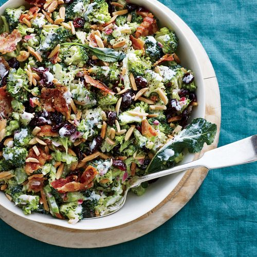 How to Make Cranberry-Almond Broccoli Salad