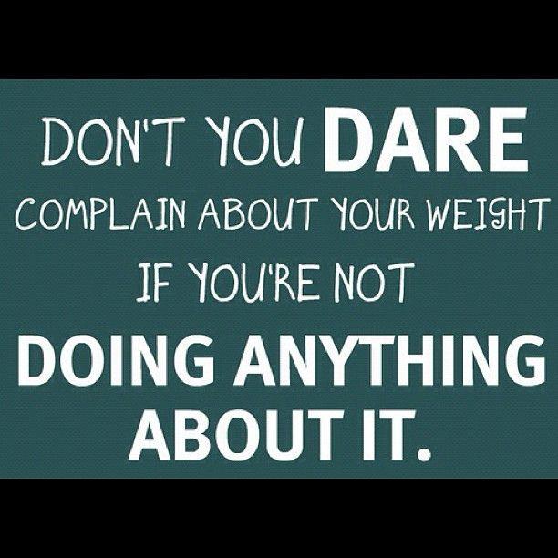 Don't you dare! #fitness #inspiration #fitspo
