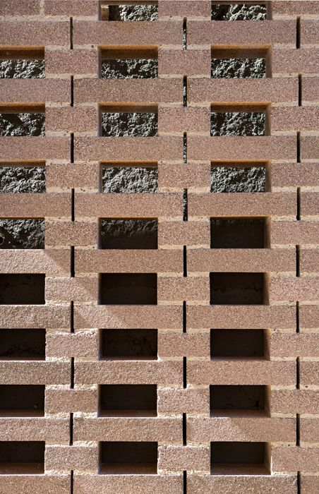 Aperture House, brick details TWOFOLD STUDIO/COX RAYNER ARCHITECTS