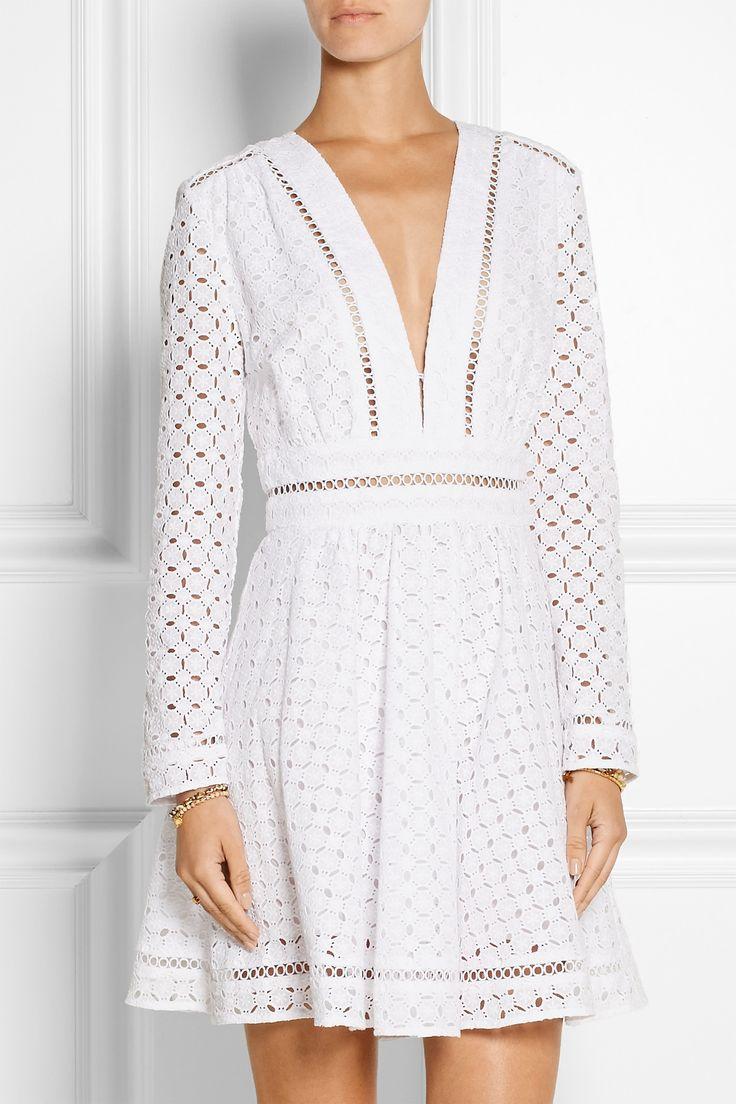 ZIMMERMANN Ryker broderie anglaise cotton dress €537.49 https://www.net-a-porter.com/products/582778