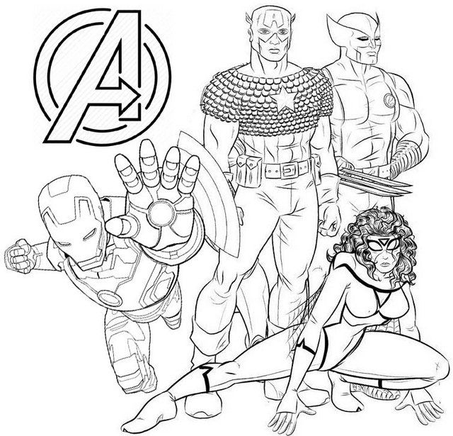 Avengers Endgame Coloring Page In 2021 Avengers Coloring Avengers Coloring Pages Unicorn Coloring Pages