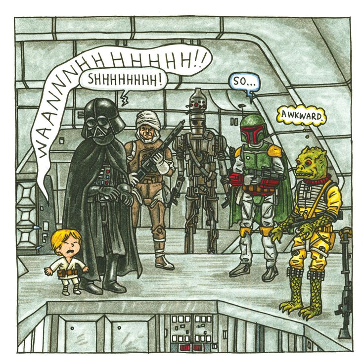 from 'Darth Vader and Son'