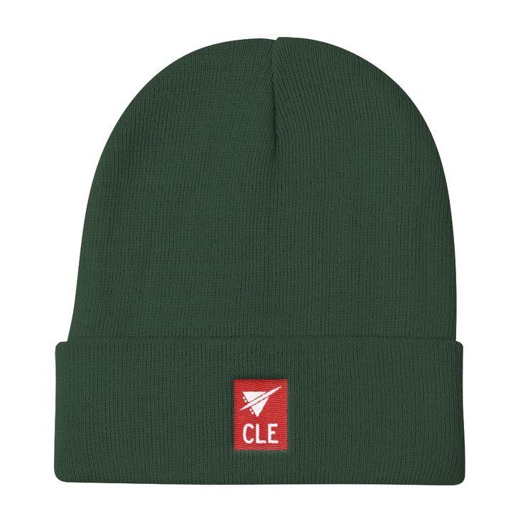 CLE Cleveland Airport Code Beanie