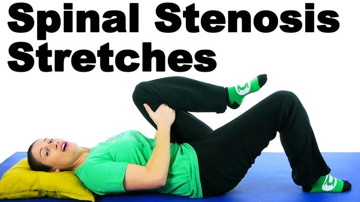 Spinal Stenosis is caused by the narrowing of the spaces in the spine which puts pressure on the nerves and causes pain. These are Doctor Jo's top three stretches to help relieve the pain caused by spinal stenosis. Learn more at http://www.askdoctorjo.com/content/spinal-stenosis