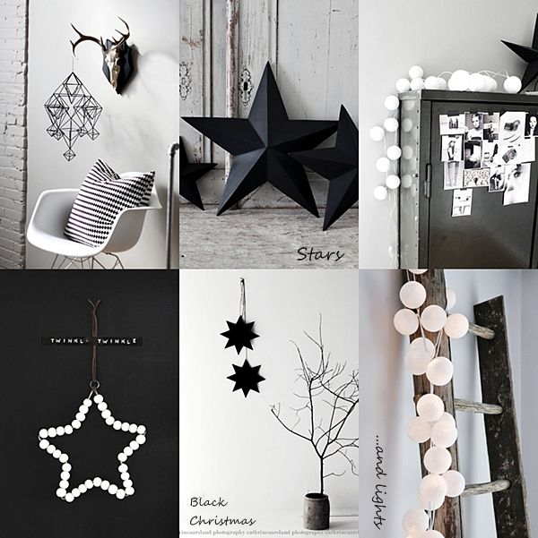 STIL INSPIRATION: Black Christmas