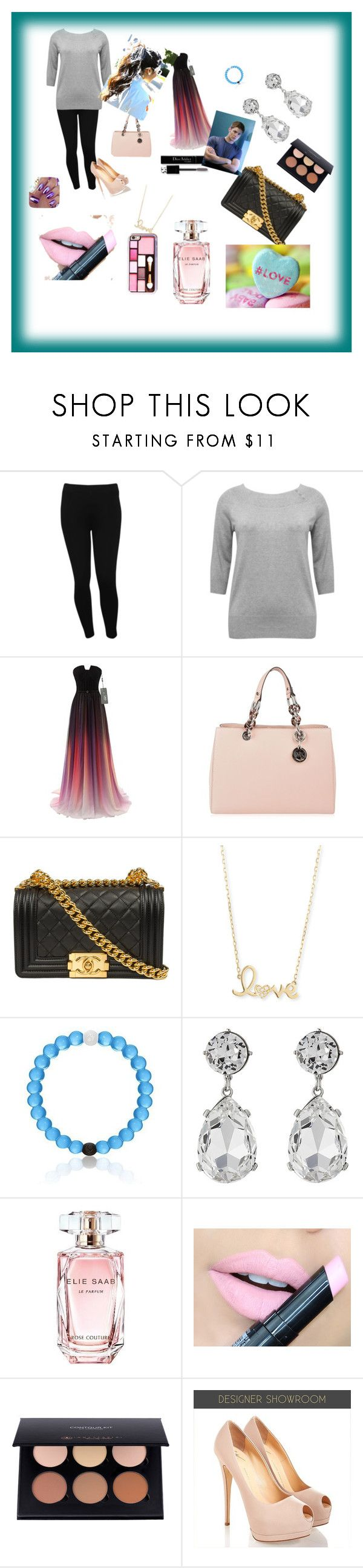 """""""Everything a girl needs"""" by antonella6666j on Polyvore featuring M&Co, MICHAEL Michael Kors, Sydney Evan, Kenneth Jay Lane, Elie Saab, Fiebiger and Christian Dior"""