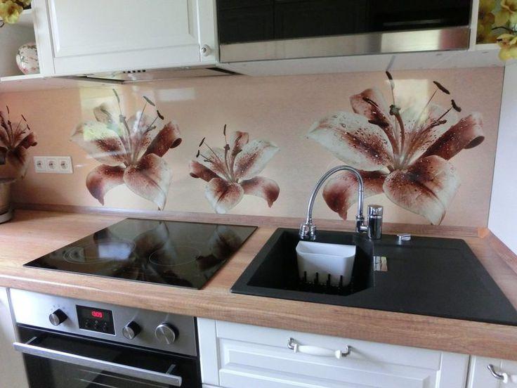 17 best Küchenrückwand images on Pinterest Kitchen ideas - lackiertes glas küchenrückwand