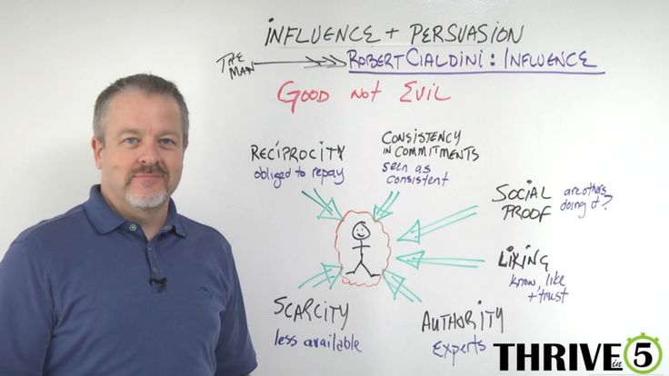 the four of the weapons of influence in influences by robert cialdini Click this link and discover these 6 killer weapons of online influence takes the six weapons of influence explained in the book influence by the now famous phd psychologist robert cialdini and if you apply these weapons of influence into your life and.