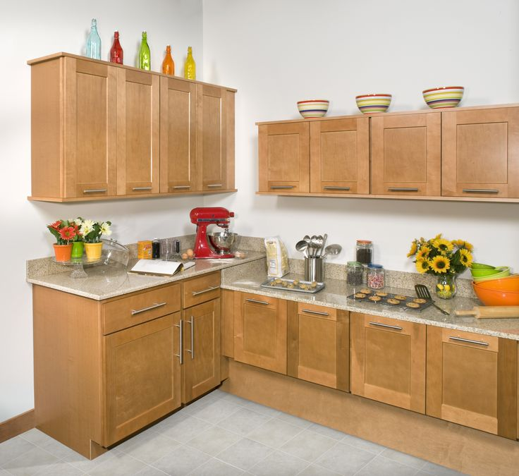 Wolf Classic Cabinets In Dartmouth Honey