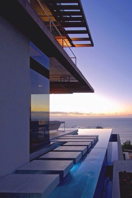 Best INFINITY POOL Images On Pinterest Infinity Pools - House cape town amazing infinity pool