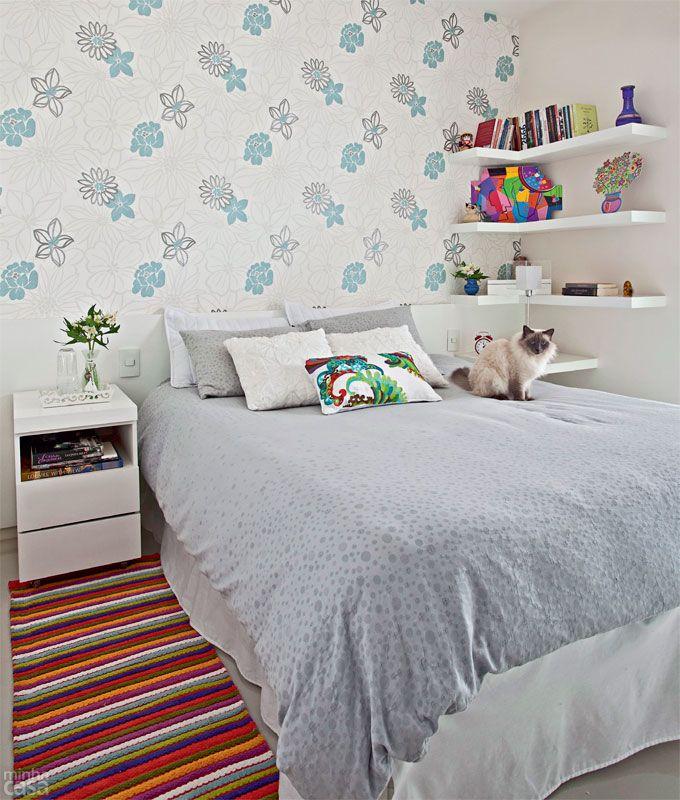 40 projetos de MINHA CASA que utilizam papel de parede - Casa