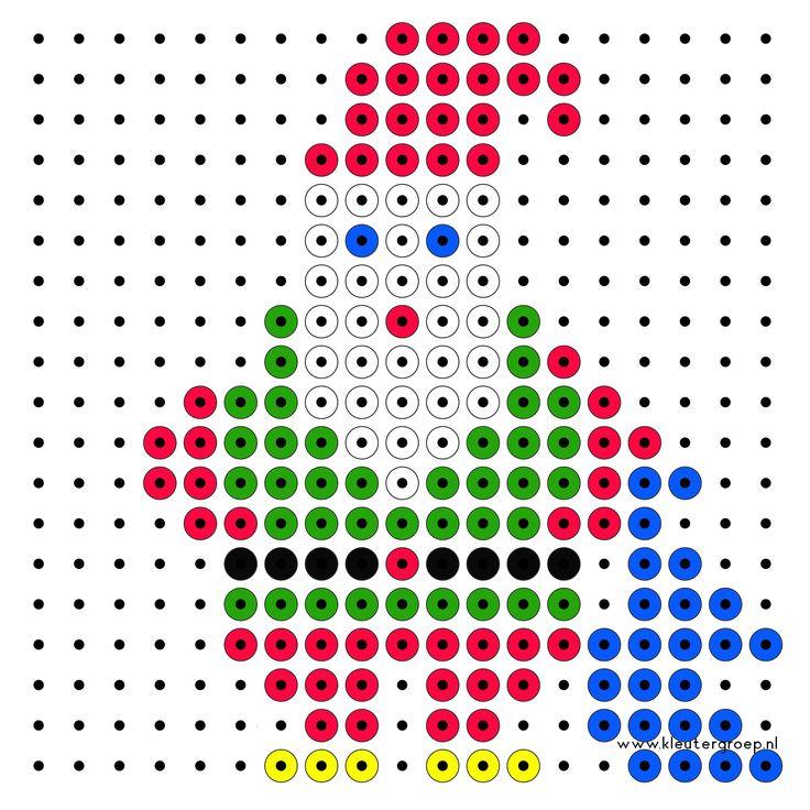 Kralenplanken Kerstmis http://www.kleutergroep.nl/Kerst/index%20kerst%203%20kralenplanken.htm