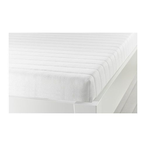 IKEA - MEISTERVIK, Foam mattress, Get all-over support and comfort with a resilient foam mattress.The mattress is approved for seating, as the zipper is placed on the bottom.Easy to keep clean since you can remove the cover and wash it by machine.Easy to bring home since it is roll packed.25-year Limited Warranty. Read about the terms in the Limited Warranty brochure.