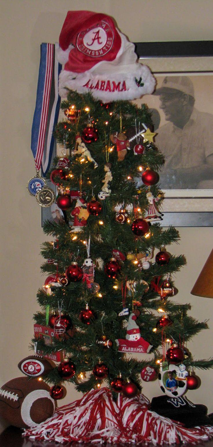 Alabama Crimson Tide Christmas Tree (The Crow Family 2011)