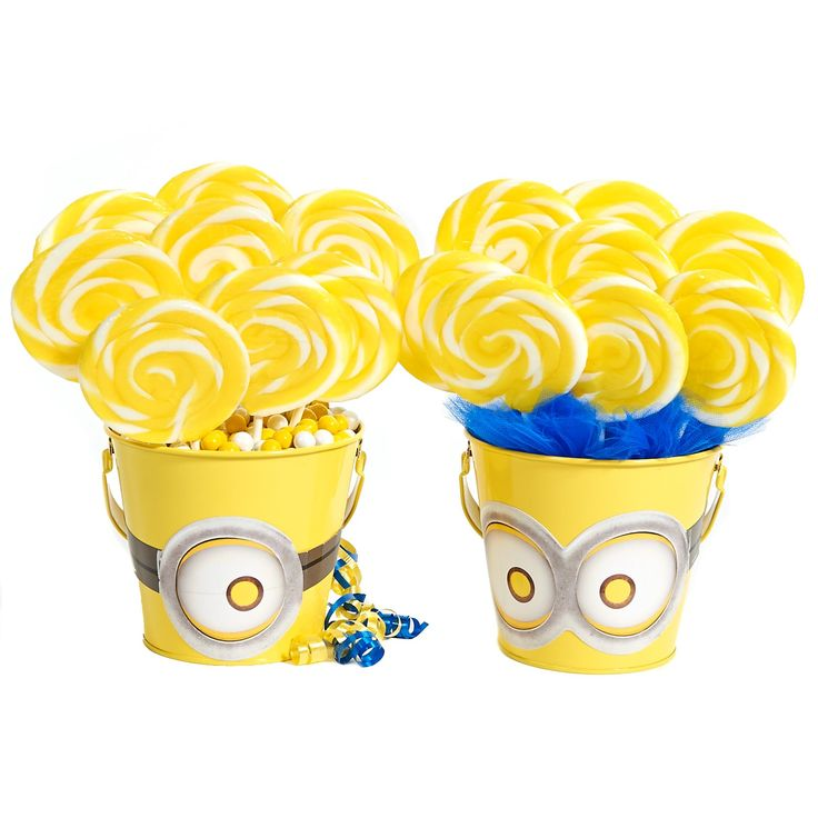 D.I.Y. Despicable Me Centerpiece Decor from BirthdayExpress.com