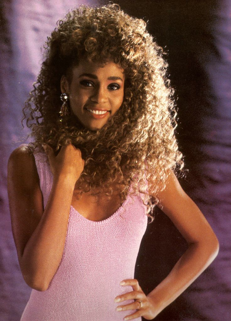 Whitney Houston innocent and beautiful before Hollywood ruined her.....