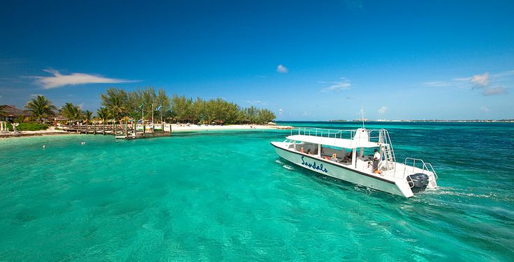 Boat To A Private Offshore Island At Sandals Royal