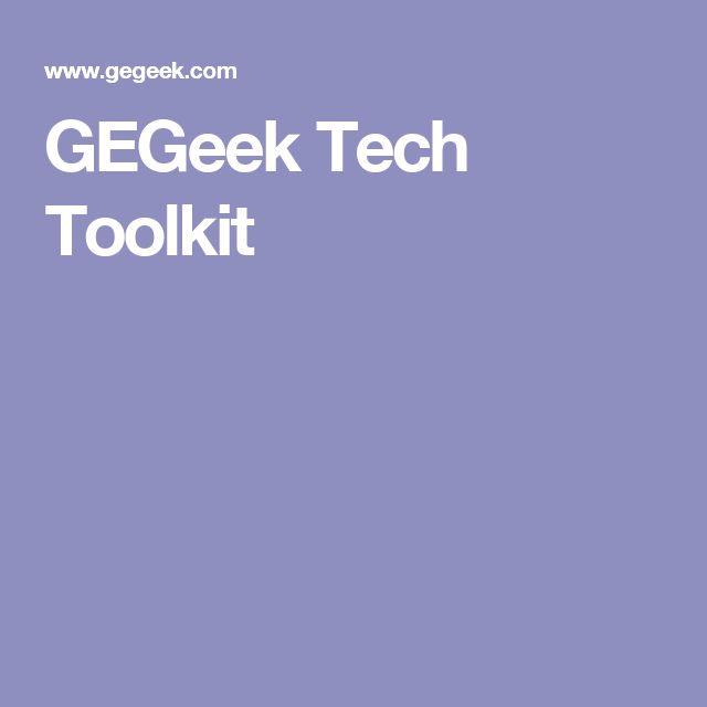 GEGeek Tech Toolkit