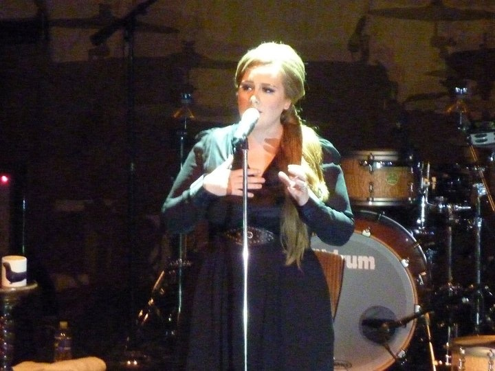 Adele's first stop on her North American tour on May 12, 2011 at the 9:30 Club in Washington, D.C.