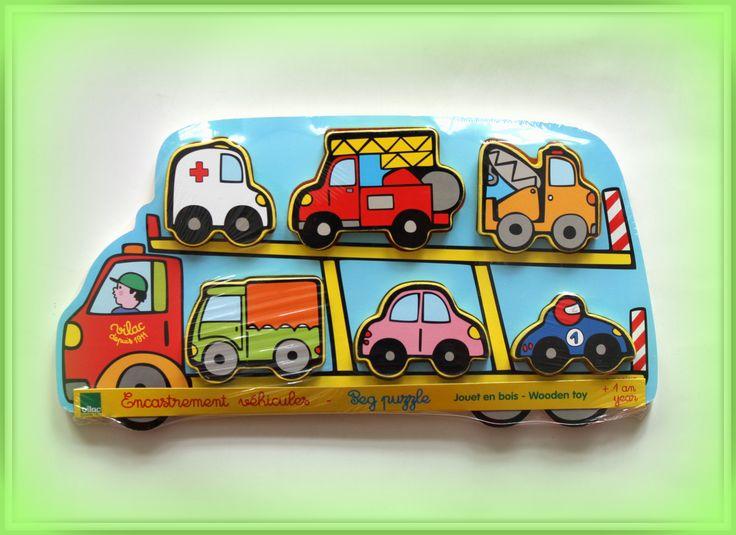 TWÓJ POMYSŁ NA PREZENT-  PUZZLE DREWNIANE LAWETA Zabawka, która ucieszy każdego małego człowieka a przy okazji rozwija u dziecka motorykę i umiejętność obserwacji i kojarzenia faktów.