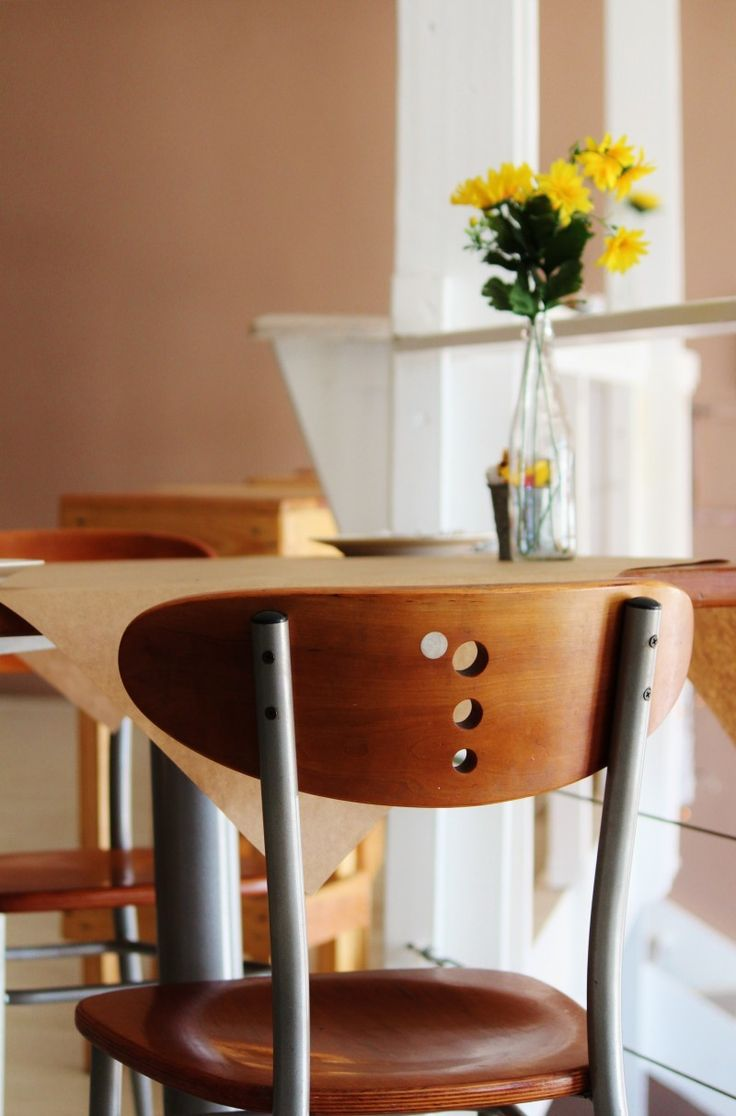 Modern cafe chairs and tables - Cafe Chair Table Gastronomy Seat Restaurant Wood Design