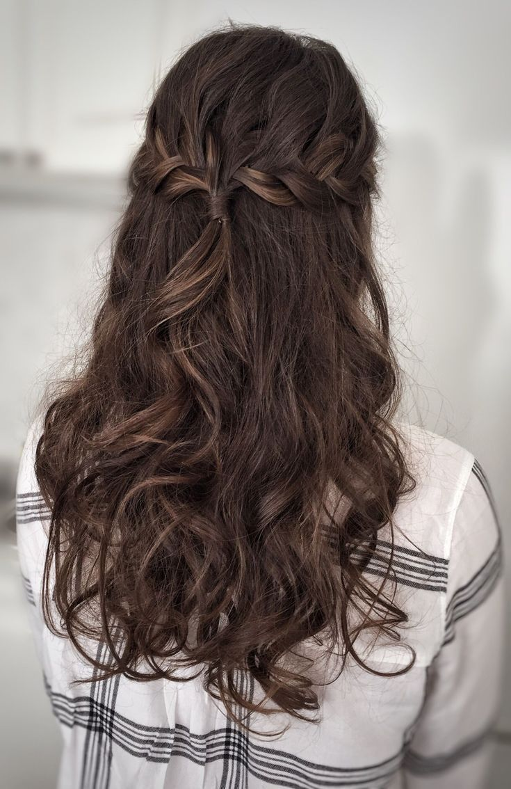 Prom Hair Promhairstyles Prom Hair Down Simple Prom Hair Hair Styles