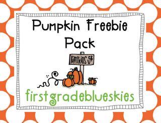 Pumpkin Worksheets for Kindergarten and First Grade