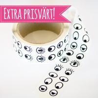 Ögonstickers/klistermärken på rulle, 2000 st. Mått: 10-15 mm. Tips på relaterade pyssel: