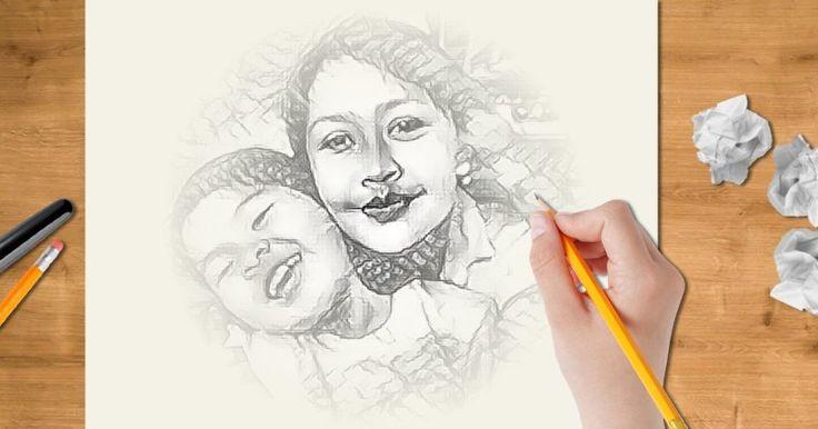 Bolehkah kami membuat sketsa dirimu? Klik di sini dan lihatlah gambarmu!