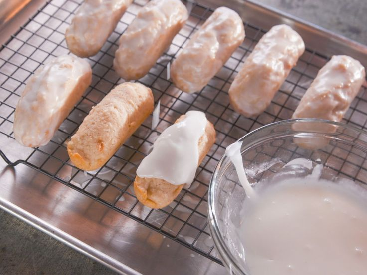Old-Fashioned Doughnut Sticks recipe from Nancy Fuller via Food Network