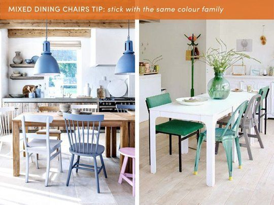 Mixed Color Stains On Dining Room Tables Pics