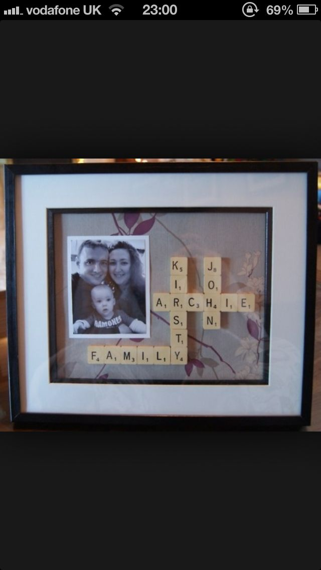 #scrabble #family #gift idea