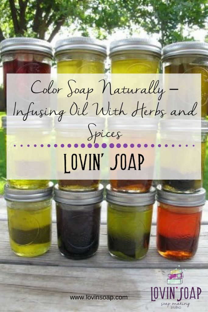infusing oils and spices