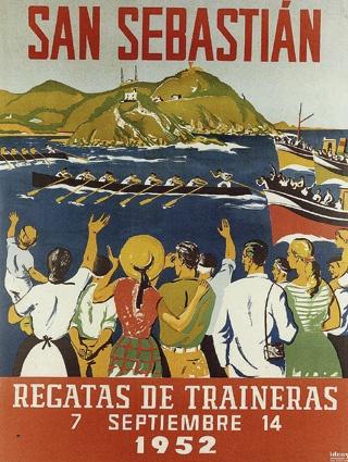 San Sebastián Regatas, Estropadak    1952
