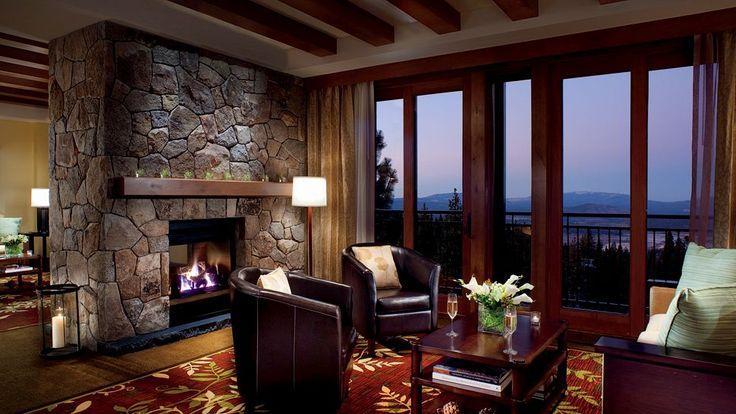 lake tahoe honeymoon suite | the ritz carlton highlands lake tahoe truckee united states