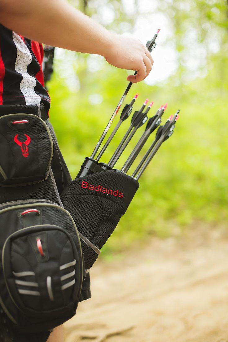 Archery Photography BowTech, Badlands Packs Hip Quiver