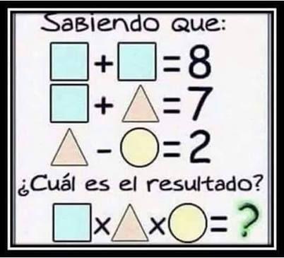 Resultado de imagen para acertijos matematicos