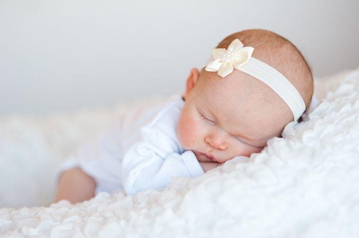 Baby haarbandjes · Staartjes en Strikjes - hippe haaraccessoires