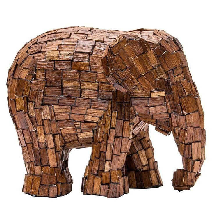 Elefant der ELEPHANT PARADE - IN THE WOODS - Deko Unlimited - Exklusive Geschenke & Dekoration, 89,95 €