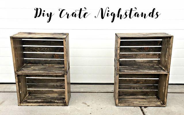 Annabeth Cherie: DIY Crate Nightstands