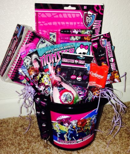 39 best 2014 easter baskets images on pinterest easter baskets monster high easter basket pail loaded with monster high fun gifts new with monster high rainbow negle Gallery